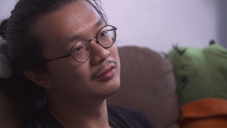 Film-maker Pong says he is is staying put in Hong Kong - for now