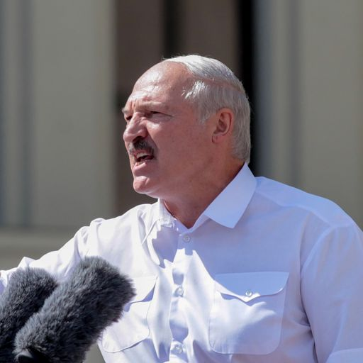 Factory workers heckle and boo Belarus President Alexander Lukashenko