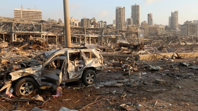 Beirut explosion: Experts can spot tell-tale signs of the causes ...