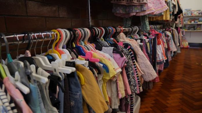 The charity provides the children with many items, including clothing