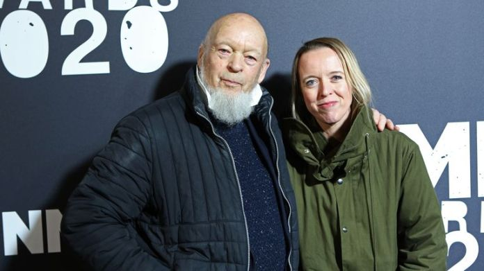 Michael Eavis and Emily Eavis attend NME Awards 2020 at O2 Academy Brixton on February 12, 2020 in London