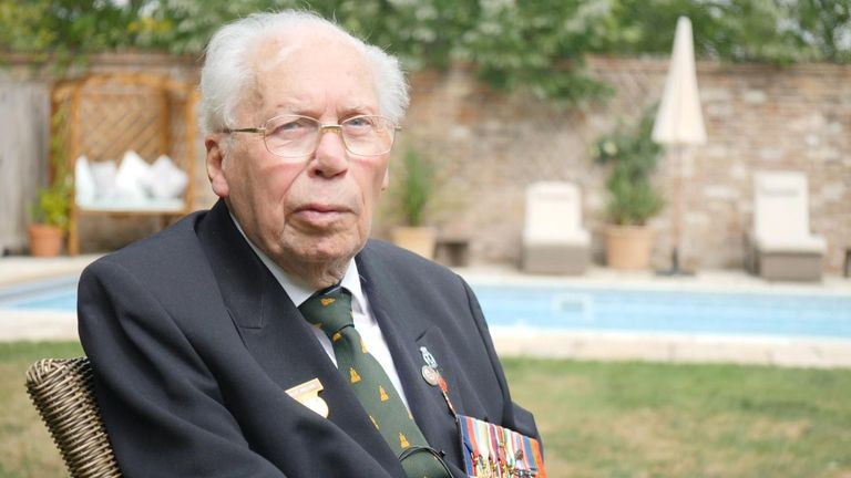 Roy Miller says the end of the war was a 'feeling of relief'