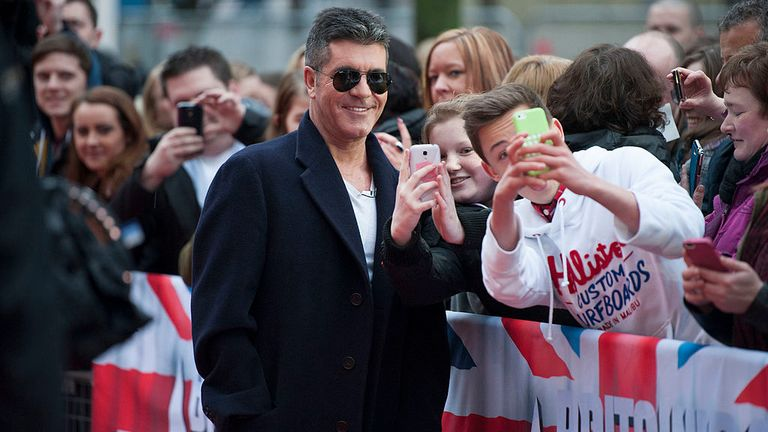 Simon Cowell is promising five more series of BGT