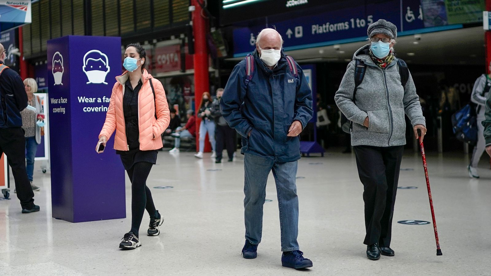 Coronavirus: New local lockdown rules announced in parts of North West. Midlands and West Yorkshire | UK News | Sky News
