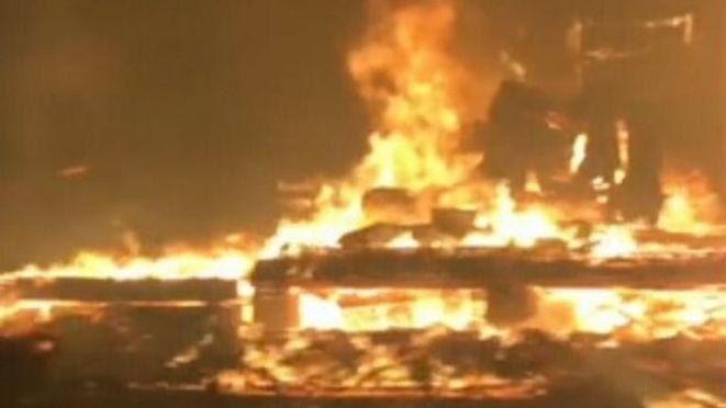 Firestorms in Oregon