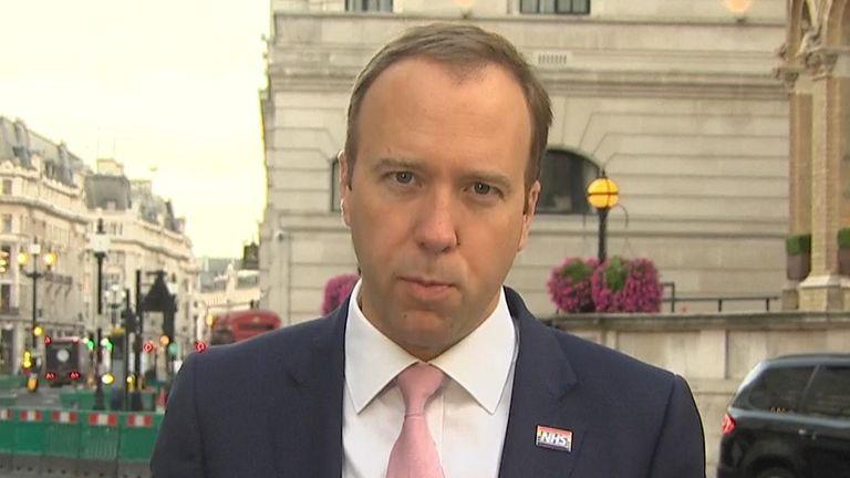 Health Secretary Matt Hancock on #KayBurley