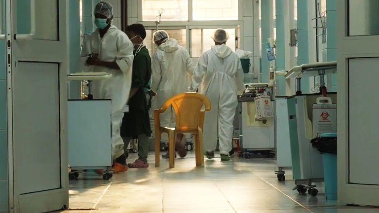 Hospitals under pressure in Yemen