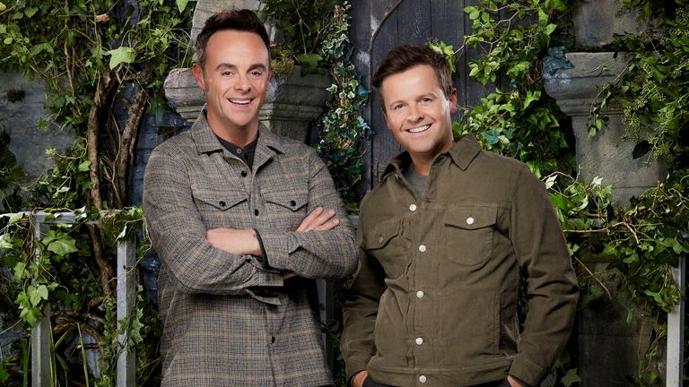I'm A Celebrity... Get Me Out Of Here! Ant & Dec. Pic: ITV