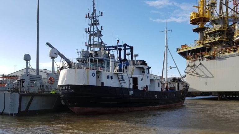 The 69 migrants were intercepted and escorted into Harwich