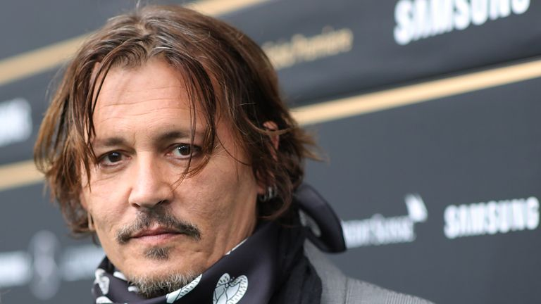 "ZURICH, SWITZERLAND - OCTOBER 02: Johnny Depp attends the ""Crock of Gold: A few Rounds with Shane McGowan"" premiere during the 16th Zurich Film Festival at Kino Corso on October 02, 2020 in Zurich, Switzerland. (Photo by Andreas Rentz/Getty Images for ZFF)"