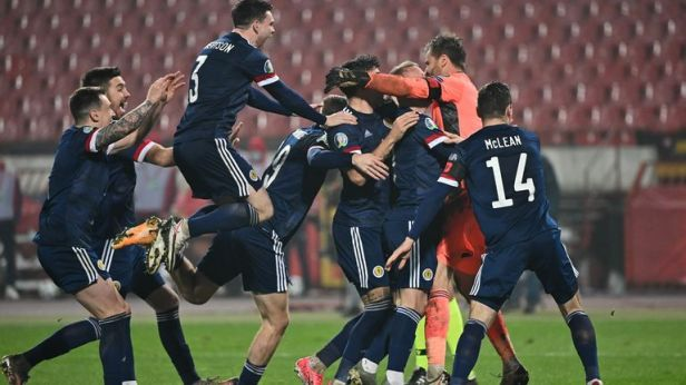 Scotland qualify for first major tournament since 1998 after beating Serbia  | UK News | Sky News
