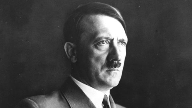 1936: German chancellor Adolf Hitler (1889 - 1945) in uniform. (Photo by Fox Photos/Getty Images)