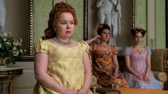 Nicola Coughlan as Penelope Featherington.  File: Netflix