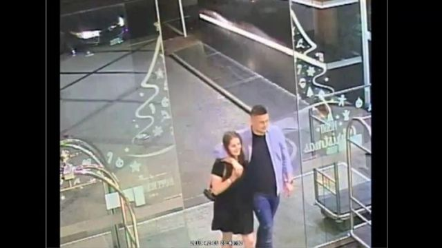 Kempson has his arm around Grace as they enter the CityLife Hotel