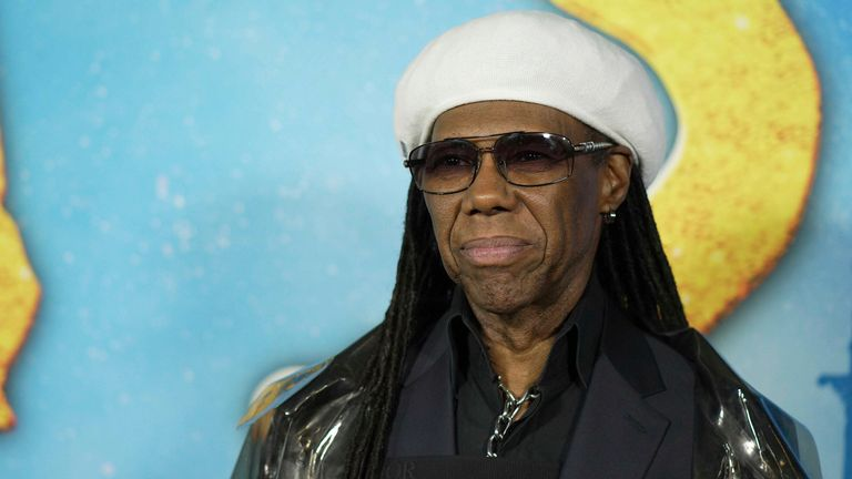 Nile Rodgers at the premiere of Cats at the Lincoln Center in New York CIty in 2019. Pic:John Nacion/STAR MAX/IPx/AP