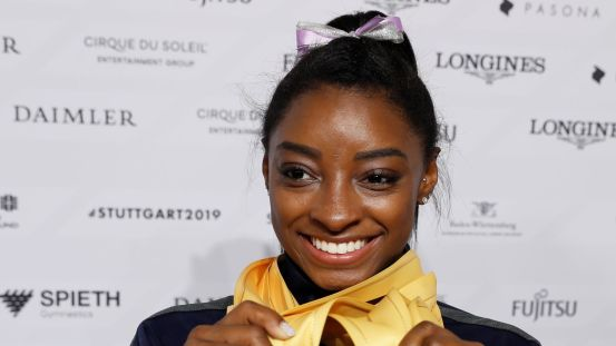 """Simone Biles: Olympic champion """"does not allow daughter to become gymnast"""" after Larry Nassar abuse scandal 