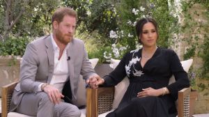 "Prince Harry tells Oprah Winfrey that his ""biggest fear was repeating history"" in connection with Diana's death 