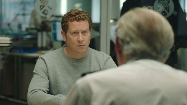 Nigel Boyle as DCI Ian Buckells in Line Of Duty. Pic: BBC/World Productions/Steffan Hill