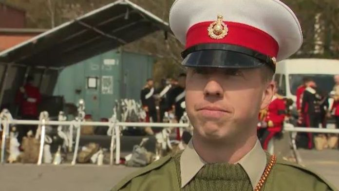 Sergeant Bugler Jamie Ritchie to perform The Last Post with three other people at funeral