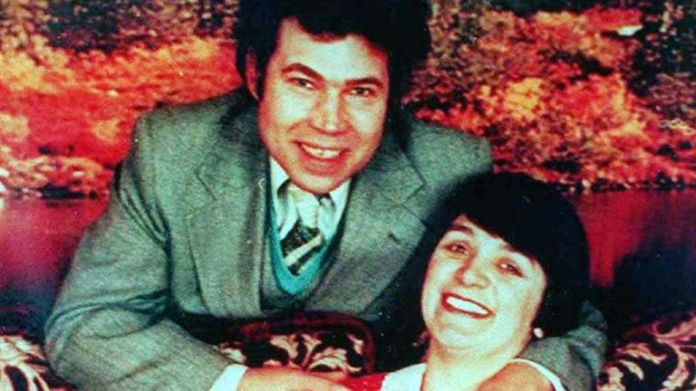 An undated photo shows convicted mass murderer Rosemary West with her husband Fred.  More than a decade after Fred and Rosemary West were arrested over a spate of gruesome murders that shocked Britain, the man who brought the couple to justice still can't shake the painfully vivid memories of what 'he saw.  To match the Crime Britain West REUTERS / Document / Files feature