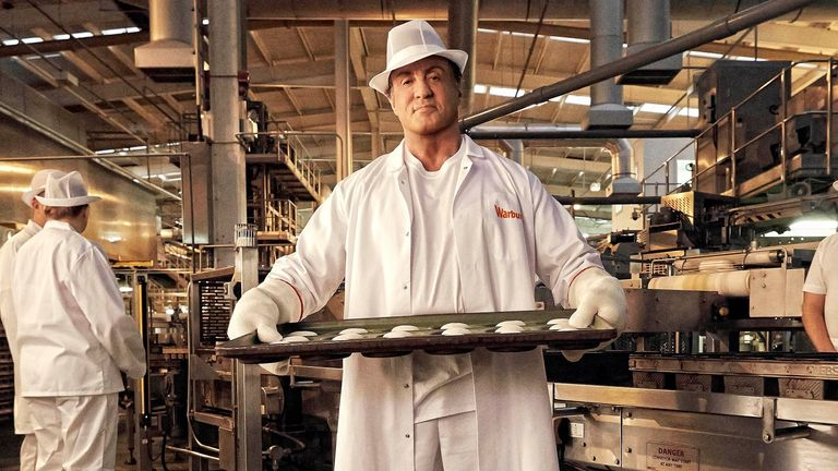 Sylvester Stallone in a 2015 Warburtons advert. Pic: AP