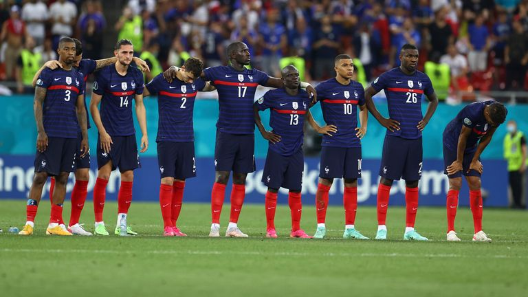Euro 2020: World champions France knocked out of Euro 2020 by Switzerland    World News   Sky News