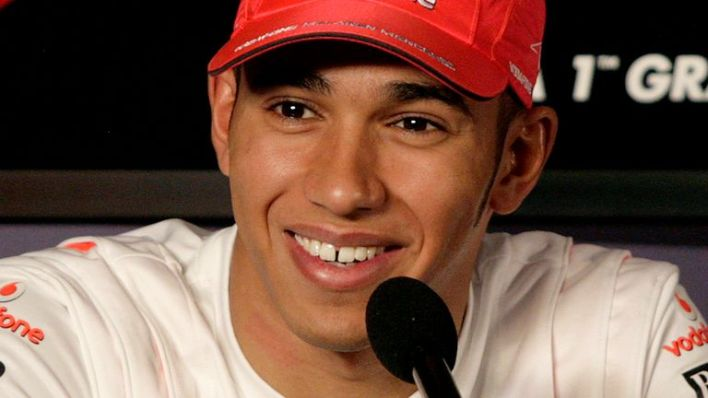 Lewis Hamilton was 22 when he started in Formula One