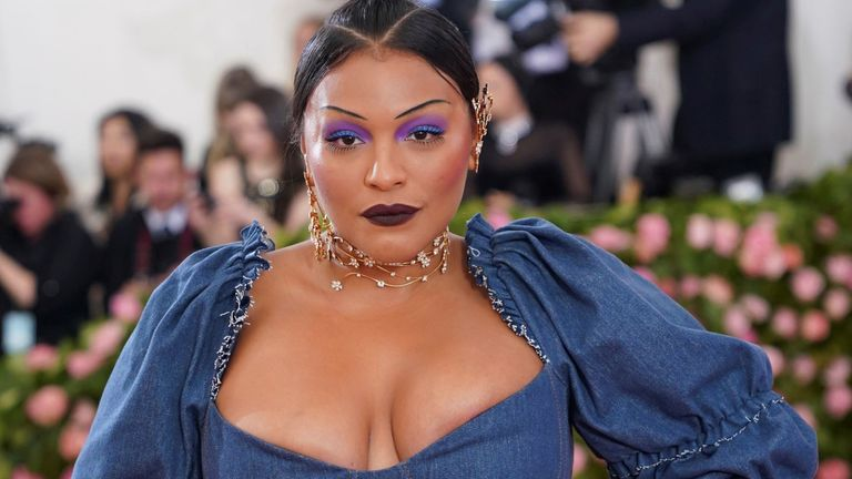Paloma Elsesser at the 2019 Costume Institute Benefit Gala celebrating the opening of Camp: Notes on Fashion. Pic: zz/Elaine Wells/STAR MAX/IPx/AP