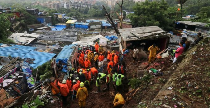 India: 35 people killed after houses collapse in landslides due to monsoon rains   World News