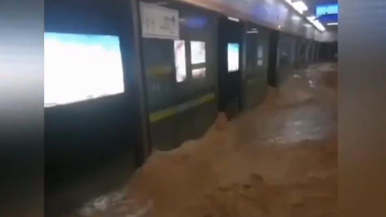 , Dams swell to warning levels and more rain forecast after 25 die in China horror flooding, The Nzuchi Times