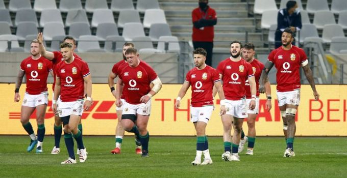 British and Irish Lions win first test over South Africa after tense second-half comeback   World News