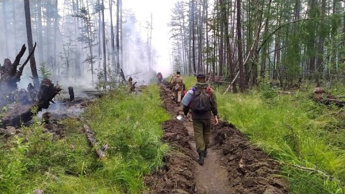 For the last two years, Siberia's wildfire season has been particularly intense. Pic Anastasya Leonova