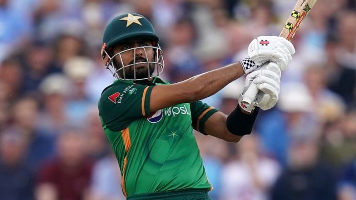Pakistan's Babar Azam plays one of the great ODI knocks seen on an English ground as he powers through to 158