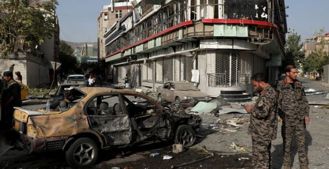 Afghanistan: Taliban car bomb followed by gun battle leaves eight dead and 20 wounded | World News