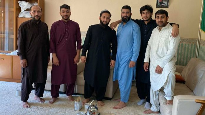 Mohammed Niazi (far left) and Imran Niazi (far right)