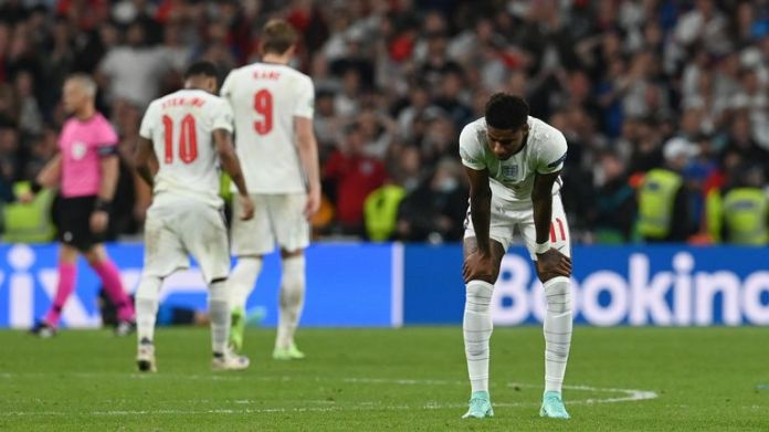 Marcus Rashford was the target of abuse after Euro 2020