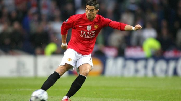 Ronaldo won the Puskas award for his goal against Porto in 2009