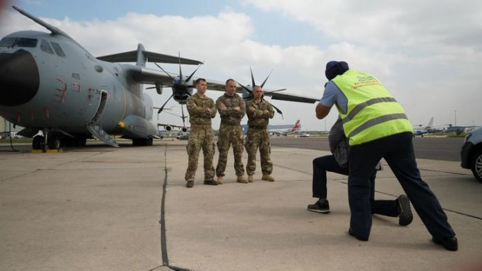 British pilots have spoken about their experiences in Afghanistan
