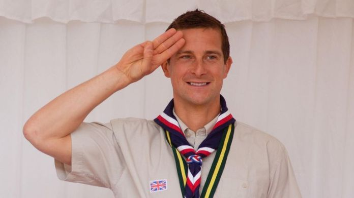 """Bear Grylls said he is """"so glad"""" children can join the Scouts movement"""