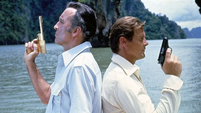 The Man With The Golden Gun (James Bond), Christopher Lee, Roger Moore  1974