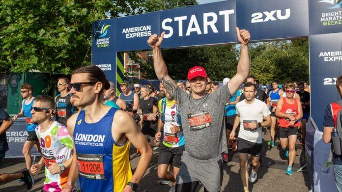 Pic: Brighton Marathon
