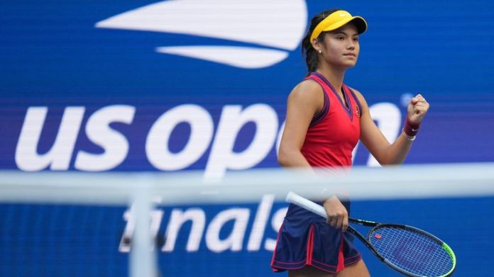 Raducanu didn't lose a single set over the 10 matches she played at the tournament