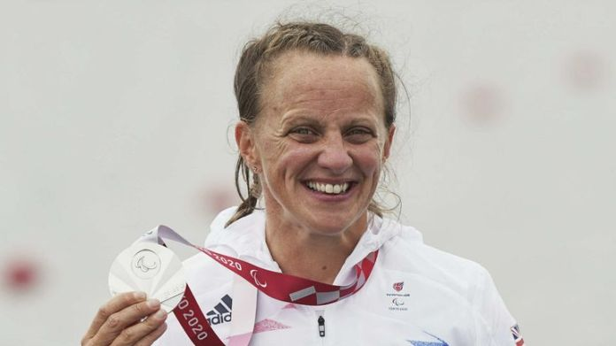 Emma Wiggs wins silver