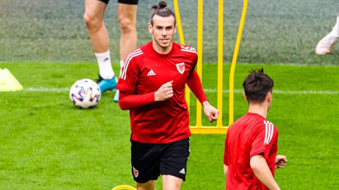 Wales captain Gareth Bale also spoke out about racism. Pic: AP