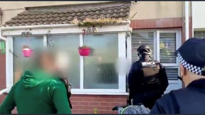 The National Crime Agency (NCA) carried out an early morning raid in Hartlepool