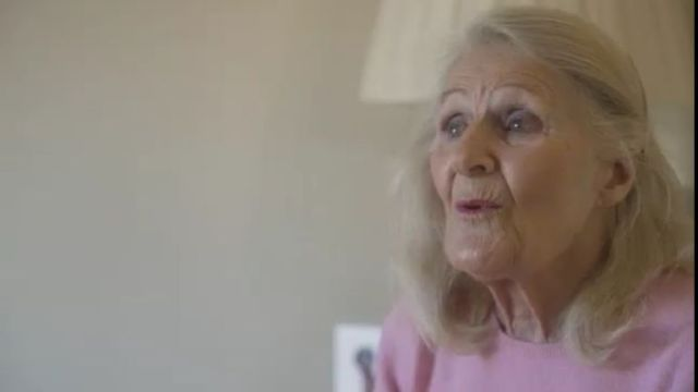 Mary Mount was the first patient to use MindPod. She suffered a stroke last April and used the dolphin game as part of her recovery