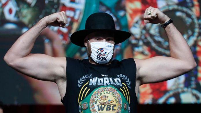 Fury is the defending WBC heavyweight champion