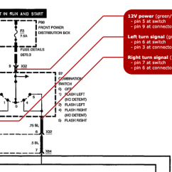 4 Pin Flasher Unit Wiring Diagram 2001 Dodge Caravan Radio One Touch Turn Signal Module E31wiki Electrical Of The Original Bmw E31 Lever Switch