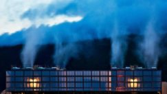 Data centers, such as Google's facility in Dalles, Oregon, generate huge amounts of waste heat.