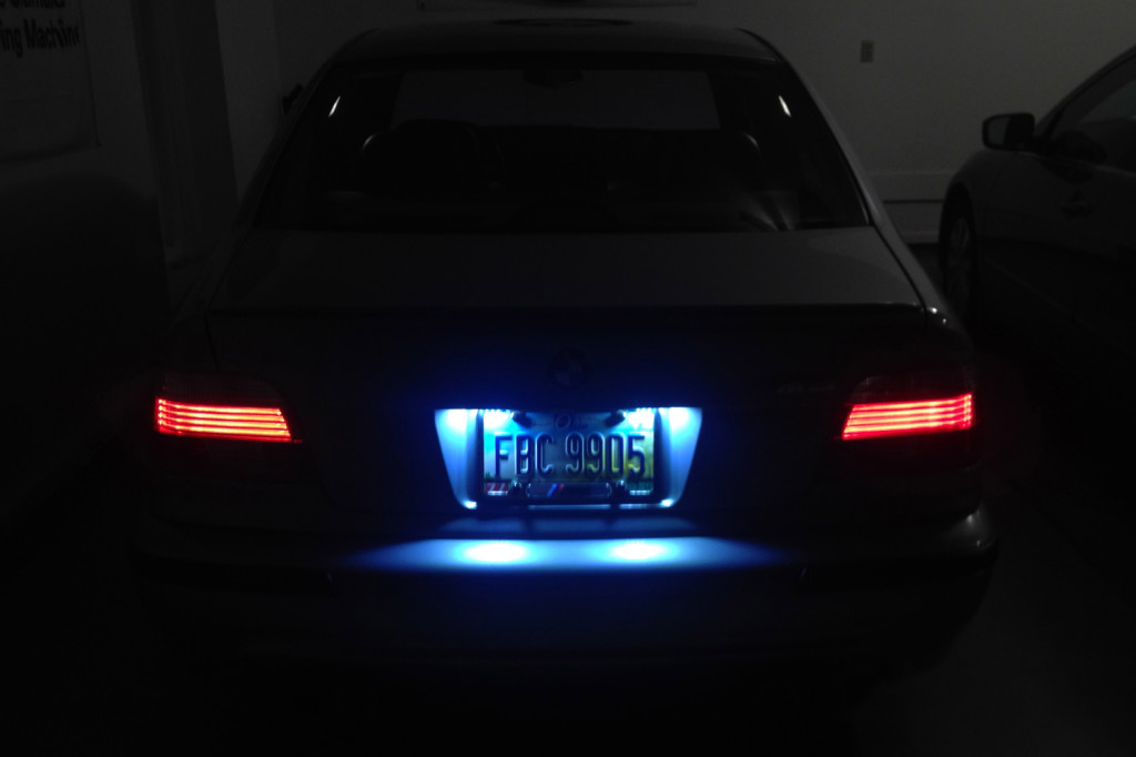 BMW E39 E38 E46 LED License Plate Lights  BMW E39Source